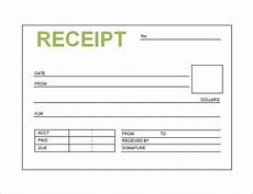 free receipt book template excel the 119 best receipt template images on sle