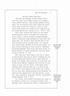 Apa Style Format For Research Paper Apa Style Research Paper Bookwormlab