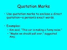 Use Of Quotation Marks English Review Of Quotation Marks And Italics Free
