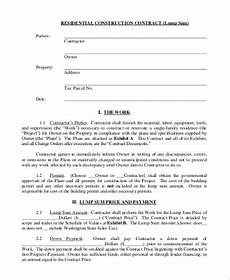 Sample Contract Forms Free 11 Sample Contracts Forms In Pdf Ms Word Excel