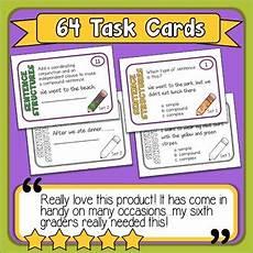 Simple Compound Complex Sentences Simple Compound And Complex Sentences Task Cards By