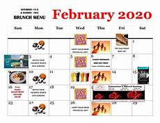 february 2020 calendar events february 2020 calendar simonholt restaurant food