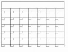 Print A Blank Calendar Blank Calendar Template In Excel By The World Of Mrs B Tpt