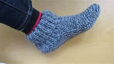 stricken hausschuhe knitting size slippers with a accent
