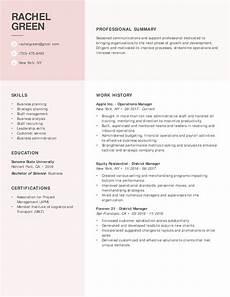 Resume Examples For Jobs 30 Resume Examples View By Industry Amp Job Title