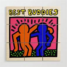 keith haring best buddies keith haring inspired quot best buddies quot complementary color o