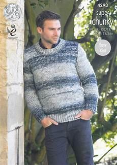 knitting men king cole mens chunky knitting pattern easy knit