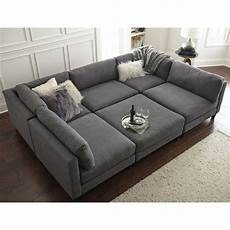 Modular Sectional Sofa For Living Room 3d Image by Cool Modular And Convertible Sofa Design For Small Living