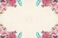 Floral Background Design Free Images Art Background Border Bouquet Card