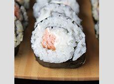 Homemade Philadelphia Roll   Homemade sushi, Food, Yummy food