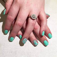 Black And Teal Nail Designs 31 Teal Nail Designs You Ll Fall In Love With 2020