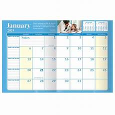 monthly planner 2020 2019 amp 2020 academic monthly desk planner