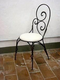 sedie da giardino in ferro battuto sedia in ferro battuto
