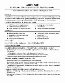 Resume Strengths Sports Fitness Resume Examples Good Resume Examples