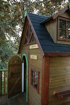 de madera casita de madera para ni 241 os elevada mod kid estrucmader