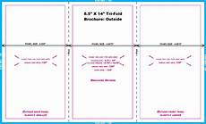 8 5 X 11 Brochure Template 11 In And 14 In Templates