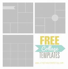 Picture Collage Templates Free Download Free Photo Collage Templates From Simple As That