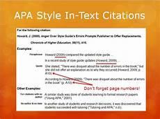 Apa Presentation Format Presentation Lis 590 Directed Fieldwork