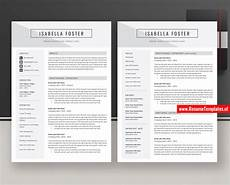 Curriculum Vitae Layout Template Simple Cv Template Resume Template For Microsoft Word