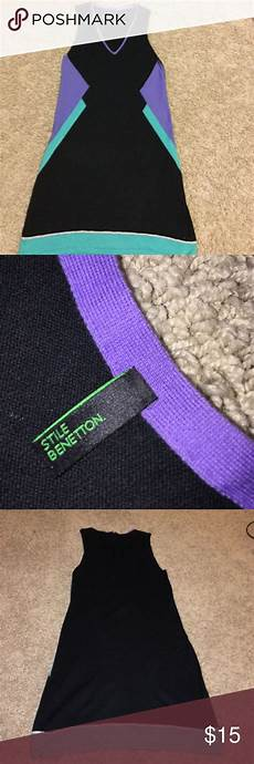 United Colors Of Benetton Size Chart United Colors Of Benetton Colorblock Sweater Dress United