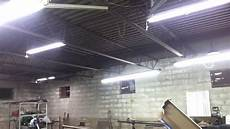 Best Lighting For Machine Shop New Lighting For My Shop Youtube