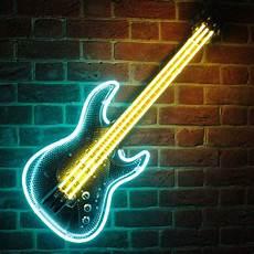 Neon Light Guitar Uk Suppliers Of Retro Neon Signs Amp Clocks Icon Neon