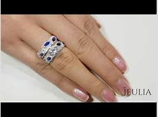 Jeulia Engagement Ring Set Show   Jeulia Jewelry   YouTube