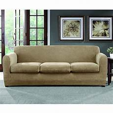 sure fit 174 ultimate stretch chenille 3 cushion sofa