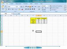 Make A Data Chart Creating A Chart From Your Table Of Data In Excel