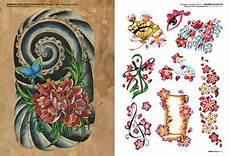 tatuaggio fiore di loto e farfalla flower tattoos 2