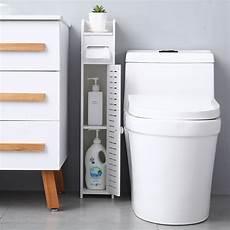 topcobe small bathroom storage corner floor cabinet with