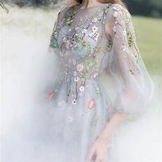 embroidery wedding 5 yards delicate floral embroidery lace fabric with
