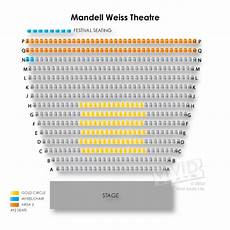 Mandell Theater Seating Chart La Jolla Playhouse Mandell Weiss Theatre Tickets La