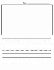 Kindergarten Paper Template Free Kindergarten Writing Paper Template Show And Tell