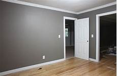 Very Light Gray Walls Grey Walls White Trim I Think I Like That Leave The