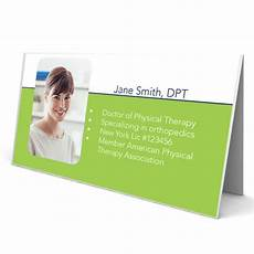 Physical Therapist Business Cards Physical Therapy Prescription Pads Design Amp Print Pt