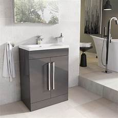 Bathroom Vanity Unit Lights Newton Anthracite Grey Bathroom Standing Vanity Sink Unit