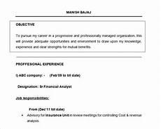 Resume Objective For Freshers Sample Resume Career Objective For Freshers Top 100