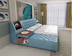 aliexpress buy post modern real genuine leather bed