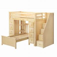 all in one staircase loft bed storage storage bed