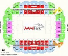 Forum Melbourne Seating Chart Aami Park Seating Map Melbourne Rectangular Stadium
