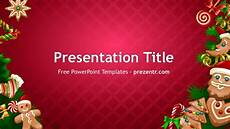 Free Christmas Ppt Templates Free Christmas Cookies Powerpoint Template Prezentr Ppt