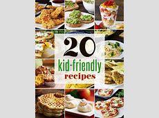 20 Easy Kid Friendly Recipes   healthy recipes that kids
