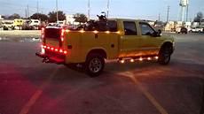 Service Truck Strobe Lights Ford F 250 Tonka Service Truck Strobe Youtube
