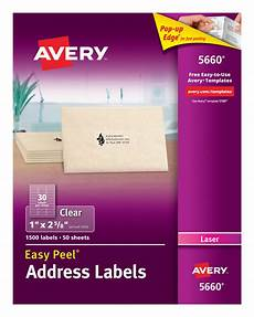Address Labels Avery Avery Laser Postcards White 200 Pack With Avery 5660