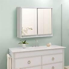 tangkula wide medicine organizer bathroom cabinet