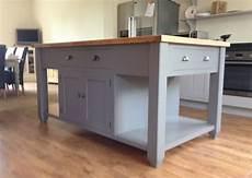 free standing island kitchen units painted free standing kitchen island unit ebay