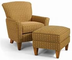 accent chair and ottoman flexsteel accents dancer chair ottoman set dunk