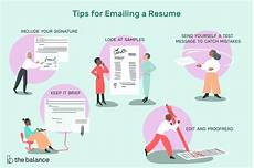 Best Way To Look For A Job How To Email A Resume To An Employer