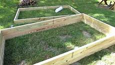 how to quickly easily build raised bed garden frames